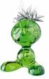 CURLY magnet. držák - zelená