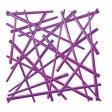 STIXX  dekorace - fialová