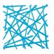STIXX dekorace - modrá