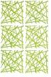 STIXX dekorace - zelená