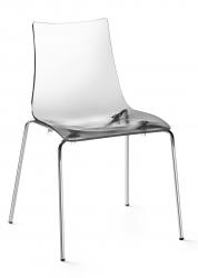 SCAB - židle Zebra transparentní