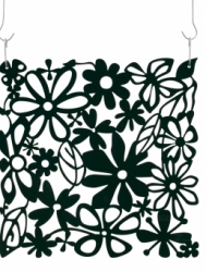 ALICE dekorace - černá