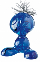CURLY magnet. držák - modrá