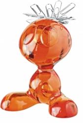 CURLY magnet. držák - oranžový